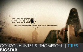 GONZO - HUNTER S. THOMPSON | BIGSTAR